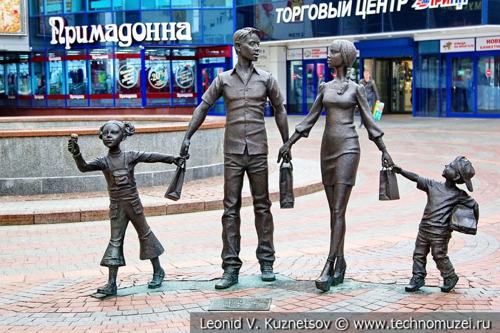 Жанровые скульптуры в Орловском ГРИНН Центре