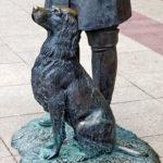 Скульптура Ивана Тургенева в Литературном сквере у Орловского ГРИНН Центра