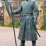 Скульптура Орел-основатель в Орловском ГРИНН Центре