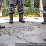 Скульптура Колесо истории в Орловском ГРИНН Центре