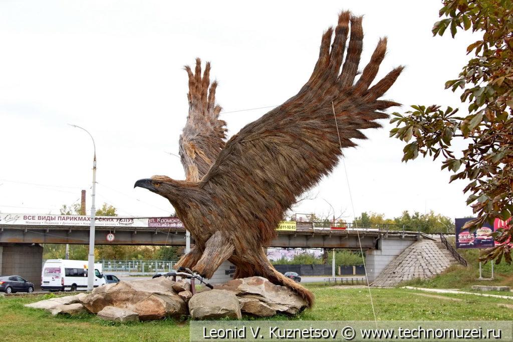 Орёл - символ города в Орле