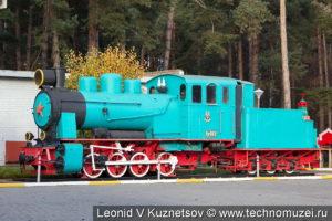 Паровоз-памятник Гр-332 на Ярославской детской железной дороге