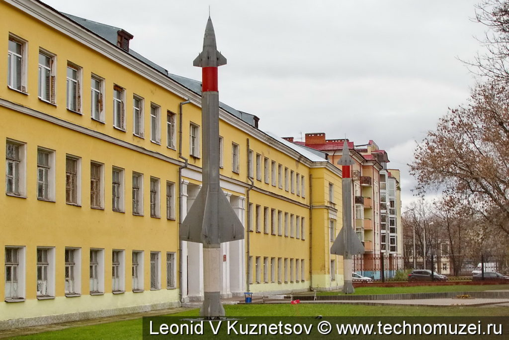 Зенитные ракеты В-300 комплекса С-25 Беркут у Ярославского училища ПВО