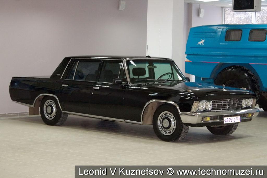 ЗиЛ-117 в музее ЗиЛ в Сокольниках