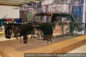 Кузов ЗиЛ-117 в музее ЗиЛ в Сокольниках