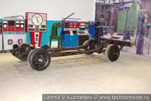 Шасси ЗиЛ-117 в музее ЗиЛ в Сокольниках