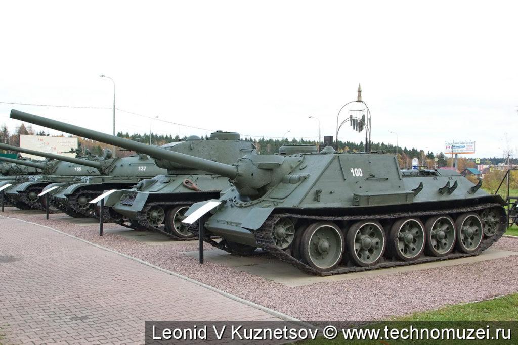 СУ-100 в музее танка Т-34