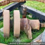 Фрагменты танков с мест боев в музее танка Т-34