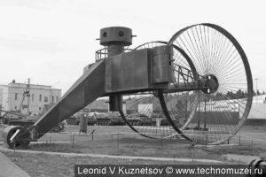 Макет танка Лебеденко в музее истории танка Т-34