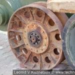Катки танков разных лет выпуска в музее танка Т-34