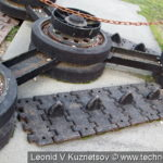 Звонница из танковых деталей в музее танка Т-34