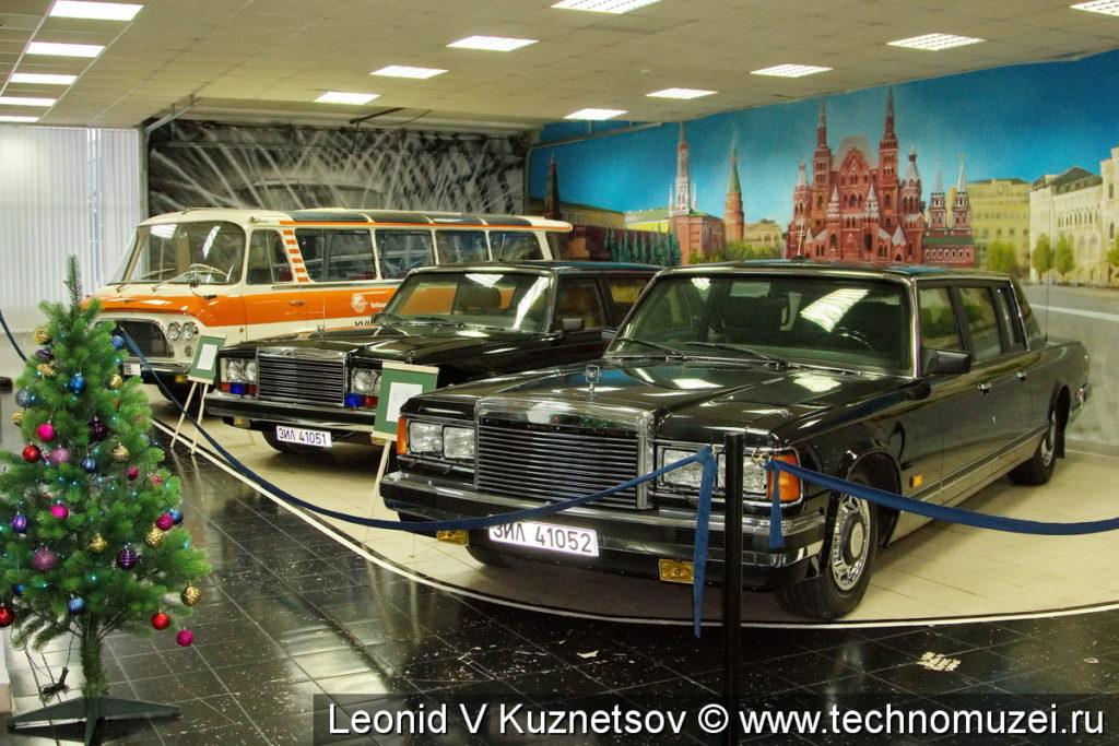 ЗиЛ-41052 в музее ЗиЛ в Сокольниках