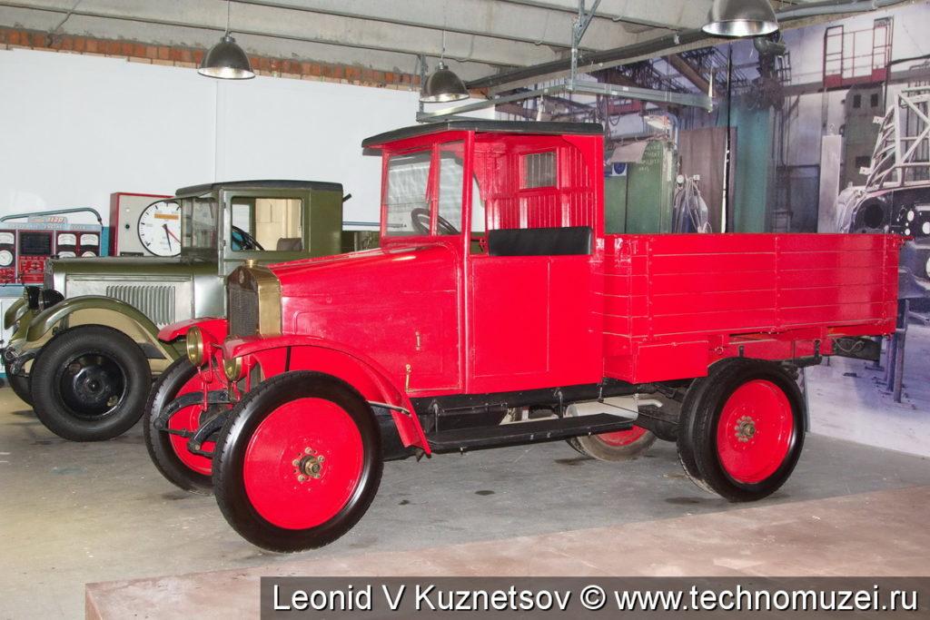 АМО-Ф-15 в музее ЗиЛ в Сокольниках
