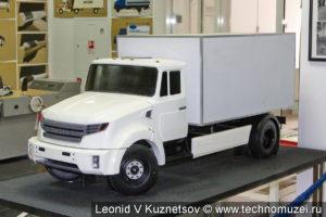 Макет перспективного грузовика ЗиЛ в музее ЗиЛ в Сокольниках