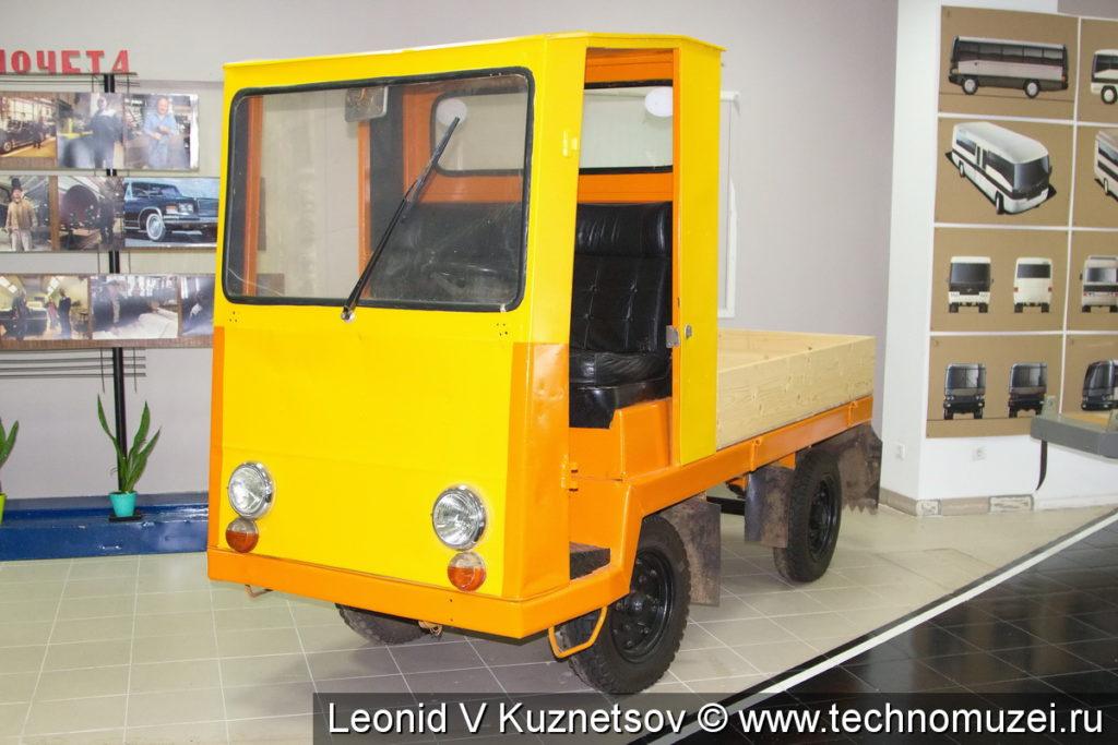 Электрокар в музее ЗиЛ в Сокольниках