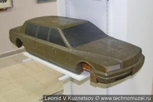 Макет перспективного легкового автомобиля ЗиЛ в музее ЗиЛ в Сокольниках