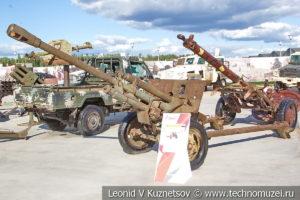 76-мм пушка ЗиС-3 на выставке сирийских трофеев в парке Патриот