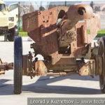 Германская 105-мм гаубица образца 18 на выставке сирийских трофеев в парке Патриот