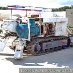 Туннельная машина XCMG на выставке сирийских трофеев в парке Патриот