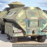 Турецкий штурмовой автомобиль YPG Eagle Head на выставке сирийских трофеев в парке Патриот