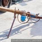 Самодельное оружие боевиков на выставке сирийских трофеев в парке Патриот
