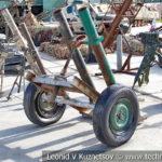 Кустарный миномет боевиков на выставке сирийских трофеев в парке Патриот