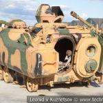 Турецкая боевая машина пехоты ACV-15 на выставке сирийских трофеев в парке Патриот