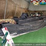 Патрульно-десантные катера боевиков на выставке сирийских трофеев в парке Патриот