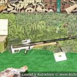 Личное оружие боевиков на выставке сирийских трофеев в парке Патриот