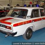 """ВАЗ-2106 """"Жигули"""" ВАИ в музейном комплексе парка Патриот"""