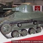Японский малый танк Тип 97 Те-Ке в музейном комплексе парка Патриот