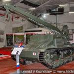 Японский самоходный кран Тип 95 Ри-Ки в музейном комплексе парка Патриот