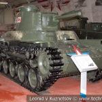 Японский средний танк Тип 2597 Шинхото Чи-Ха в музейном комплексе парка Патриот