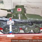 Японский легкий танк Тип 95 Ха-Го в музейном комплексе парка Патриот