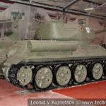 Средний танк Т-34-85 в музейном комплексе парка Патриот