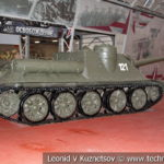 100-мм самоходная артиллерийская установка СУ-100 в музейном комплексе парка Патриот