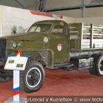 Американский грузовой автомобиль Studebaker US-6 в музейном комплексе парка Патриот