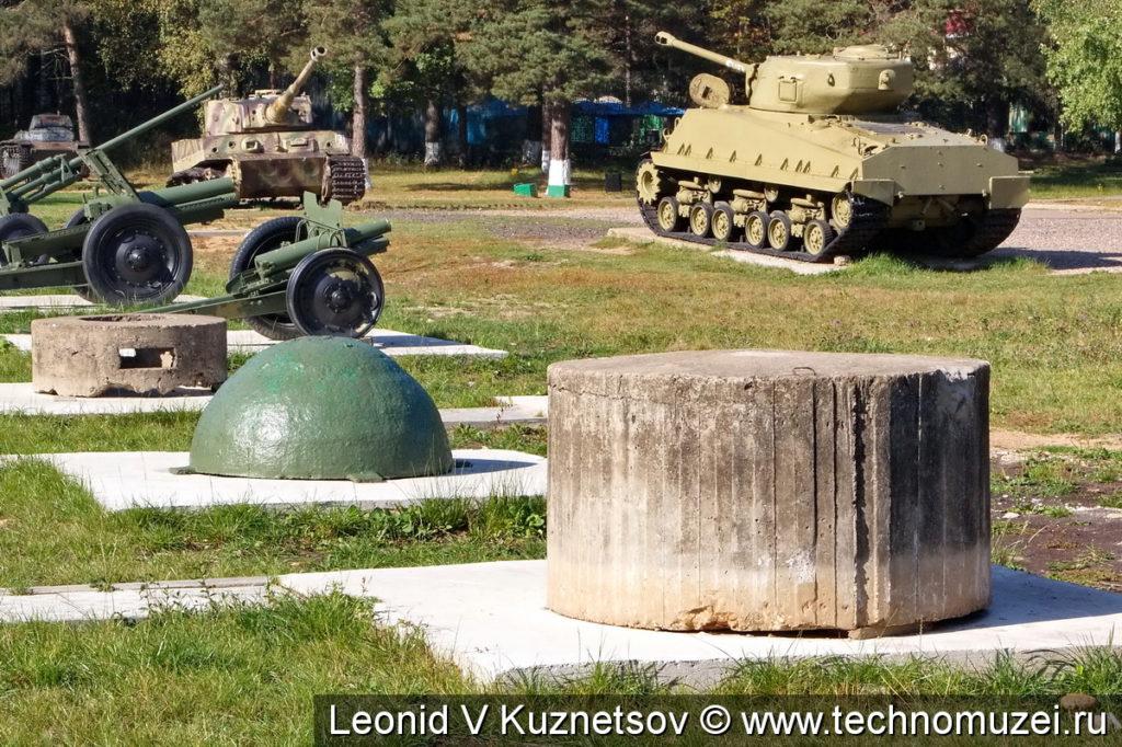 Железобетонный ДОТ в Ленино-Снегиревском военно-историческом музее