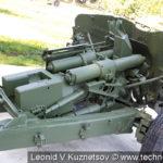 Пушка Д-48 в Ленино-Снегиревском военно-историческом музее