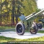 Гаубица Д-1 (52-Г-536А) в Ленино-Снегиревском военно-историческом музее