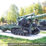 Мортира Бр-5 в Ленино-Снегиревском военно-историческом музее