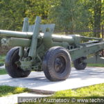 Пушка-гаубица МЛ-20 (52-Г-544А) в Ленино-Снегиревском военно-историческом музее