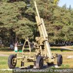 Зенитная пушка 52-К (52-П-366) КС-12 в Ленино-Снегиревском военно-историческом музее