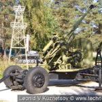Зенитная пушка КС-19 в Ленино-Снегиревском военно-историческом музее