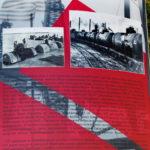 Макет бакинской нефтяной вышки в Ленино-Снегиревском военно-историческом музее