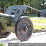 Полевая гаубица образца 1910/30 года в Ленино-Снегиревском военно-исторического музее