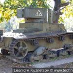 Однобашенный танк Т-26 в Ленино-Снегиревском военно-историческом музее