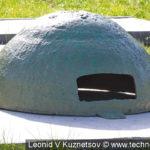 Стальной бронеколпак в Ленино-Снегиревском военно-историческом музее