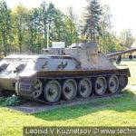Самоходная артиллерийская установка СУ-100 в Ленино-Снегиревском военно-историческом музее