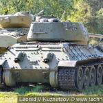 Танк Т-34-85 в Ленино-Снегиревском военно-историческом музее
